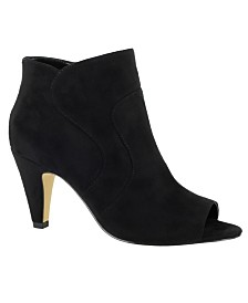 Bella Vita Noah II Open Toe Dress Booties