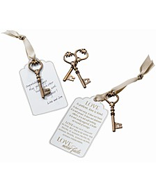 24 Christian Guest Signing Key Tags