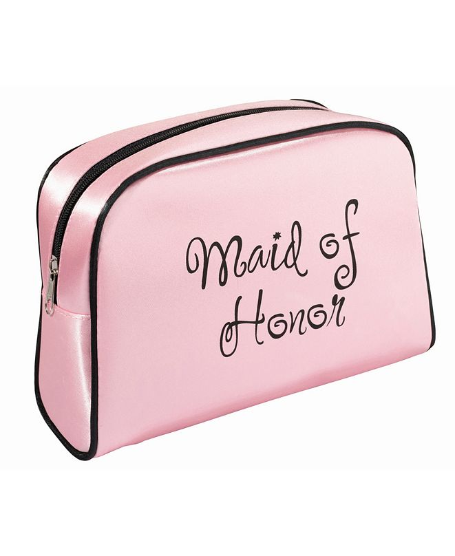 Lillian Rose Maid of Honor Travel Makeup Bag