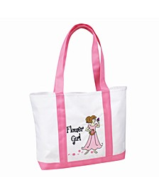 Flower Girl Nylon Tote