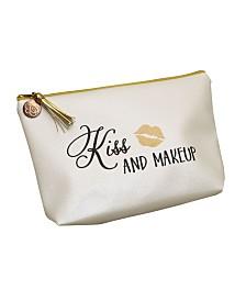 Lillian Rose Kiss and Makeup Cosmetic Bag