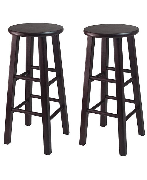 """Winsome Pacey 2-Piece 29"""" Bar Stool Set"""