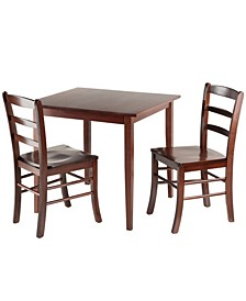 Groveland 3-Piece Square Dining Table with 2 Chairs
