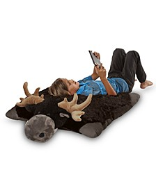 Signature Jumboz Moose Oversized Stuffed Animal Plush Toy