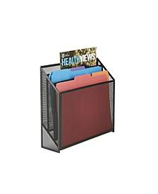 3 Tier Jumbo Magazine File Holder
