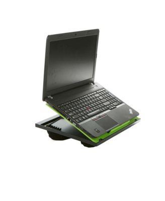 Portable Laptop Desk Cushioned Adjustable 8 Position Lap Drawing Desk Black