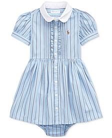 Baby Girls Stripe Cotton Dress