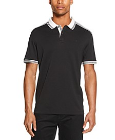 Men's Interlock Tipped Polo Shirt