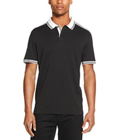 DKNY Men's Interlock Tipped Polo Shirt