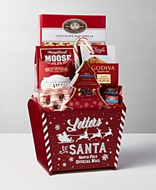Express Delivery Letters To  Santa Red Gift  Bin