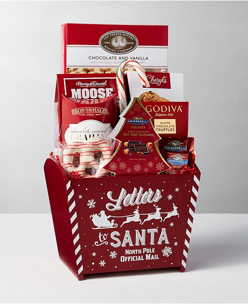 Design Pac Express Delivery Letters To  Santa Red Gift  Bin