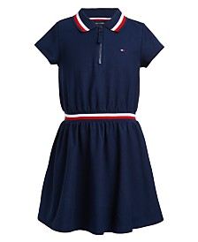 Tommy Hilfiger Big Girls Piqué Polo Dress