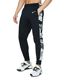 Men's Dri-FIT Camo-Trim Fleece Tapered Pants