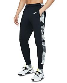 Nike Men's Dri-FIT Camo-Trim Fleece Tapered Pants