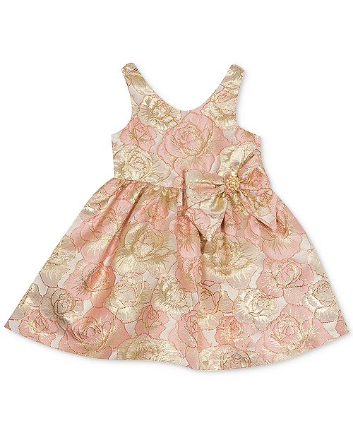 Rare Editions Baby Girls Floral Dress