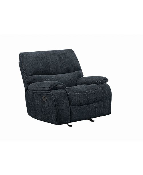 Coaster Home Furnishings Perry Upholstered Glider Recliner