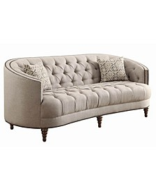 Coaster Home Furnishings Avonlea Sofa with Button Tufting