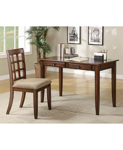 Coaster Home Furnishings 2-Piece Writing Desk Set