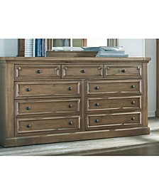 Florence 9-Drawer Dresser with Jewelry Tray