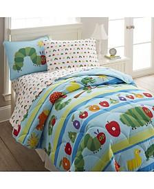 Wildkin The Very Hungry Caterpillar Twin Lightweight Comforter Set