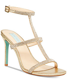 Blue by Betsey Johnson Tate Evening Sandals