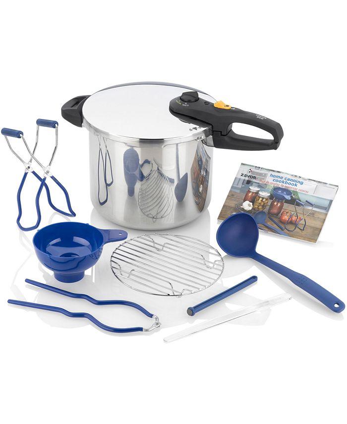 ZAVOR - Duo 10-Pc. Pressure Cooker & Canning Set