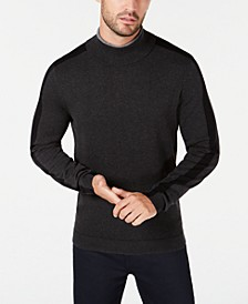 Men's Colorblocked Turtleneck, Created for Macy's