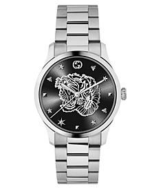 Men's Swiss G-Timeless Stainless Steel Bracelet Watch 38mm