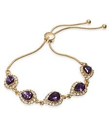 Crystal & Stone Slider Bracelet, Created for Macy's
