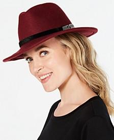 INC Animal-Band Panama Hat, Created for Macy's