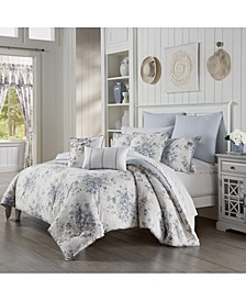 Frances Full/Queen 3pc. Comforter Set