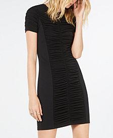 Michael Michael Kors Shirred Dress, Regular & Petite Sizes