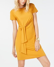 Michael Michael Kors Twist-Tie Dress