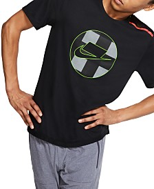 Nike Men's Dri-FIT Mesh-Back Graphic Running Top