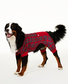 Matching Family Pajamas Brinkley Plaid Pet Pajamas, Created for Macy's