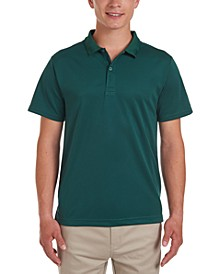 Young Men Short Sleeve Performance Polo