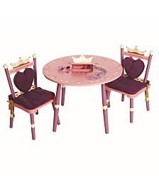 Wildkin Princess Table and 2 Chair Set