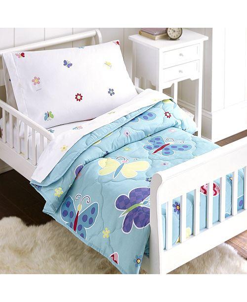 Wildkin Butterfly Garden Sheet Set - Toddler