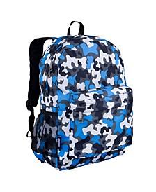 "Big Dot Aqua 16"" Backpack"