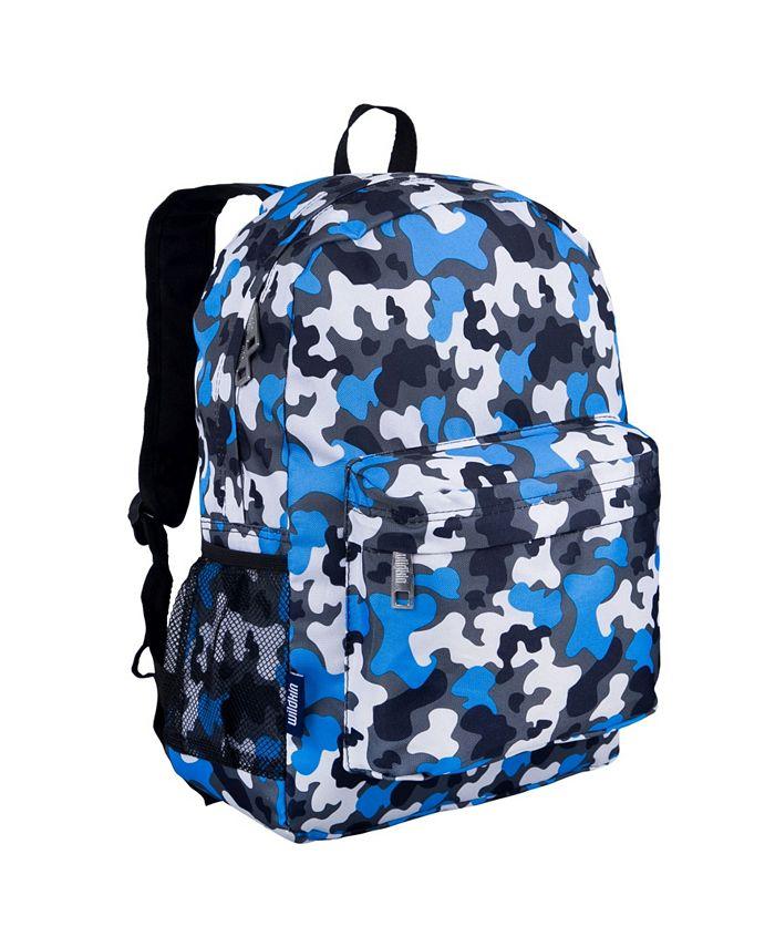 Wildkin - Blue Camo 16 Inch Backpack