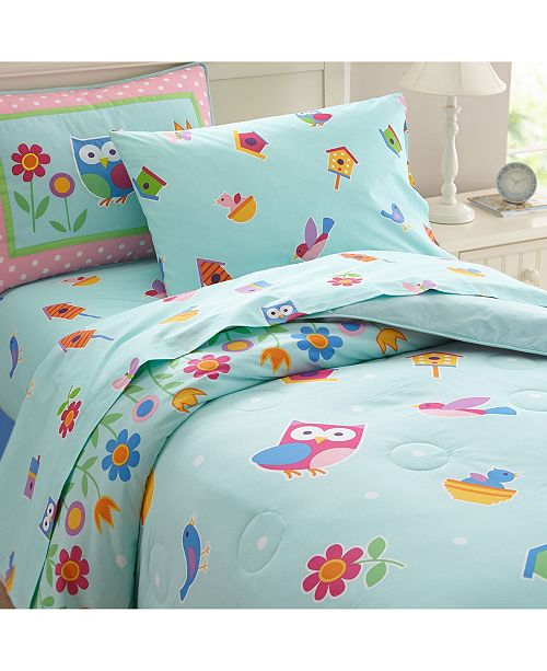 Wildkin Birdie Full Lightweight Comforter Set