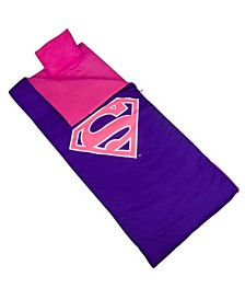 Unisex Superman Pink Shield Sleeping Bag