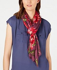 INC Brushed Flowers Pashmina, Created for Macy's