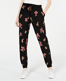 Hippie Rose Juniors' Jogger Pants