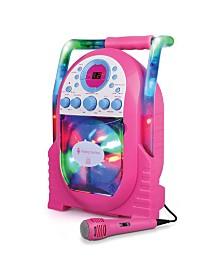 The Singing Machine SML505P Portable CD + G Karaoke System