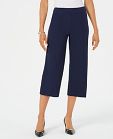 JM Collection Cropped Pull-On Pants, Created for Macy's