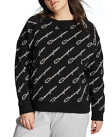 Champion Plus Size Heritage Logo-Print Sweatshirt