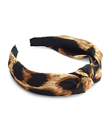 I.N.C. Animal-Print Headband, Created for Macy's
