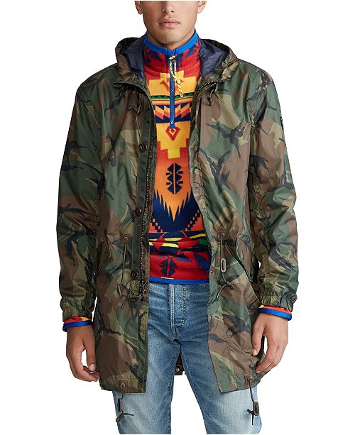 Polo Ralph Lauren Men's Military Marsh Coat