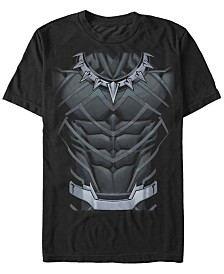 Marvel Men's Comic Collection Black Panther Suit Short Sleeve T-Shirt